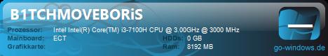 i3 7100H x GTX 950m