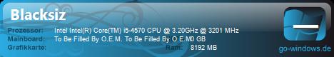 """Derzeitiger """"Spiele-PC"""""""
