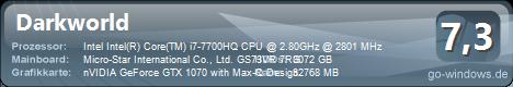 MSI GS73VRG StealthPro