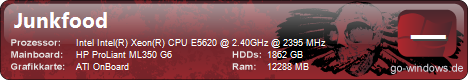 HP PL ML350 G6