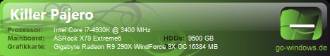 Intel i7 4930K/AMD R9 290X WindForce 3x