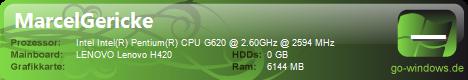 Lenovo H420 Tuned