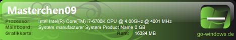 Mein neuer PC