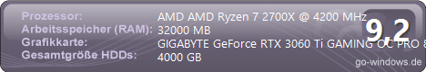 Gaming PC AMD Ryzen 7 2700X
