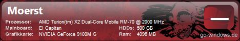 Samsung Aspire 7530 G