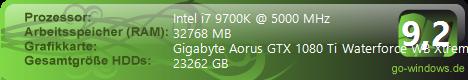 Eleanor:Asus Maximus VIII Formula + Skylake i7 6700K + Gigabyte Aorus GTX 1080 Ti Waterforce WB Xtreme Edition 11GB