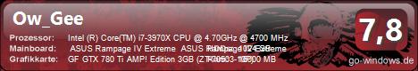 Intel Core i7-3970X Extreme Edition GTX 780Ti SLI Wasser Kühlung Siehe bilder^^
