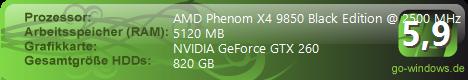 AMD Phenom(tm) 9850 Quad-Core