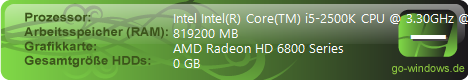 i5-2500K BEAST