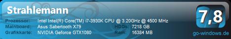 Rechenmonstaaa!! Intel i7-3930K!!!