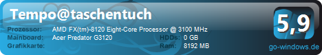 Acer Predator g3120