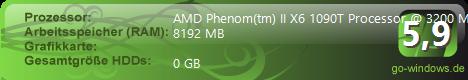 AMD Phenom II X6 Valmir Win7