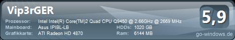 Intel Core 2 Quad Q9450 (zieht im August von Berlin nach NRW um)