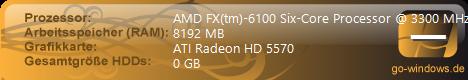 AMD FX 6100 6x