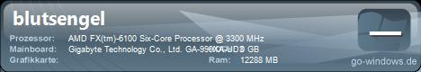 Mein AMD Rechner
