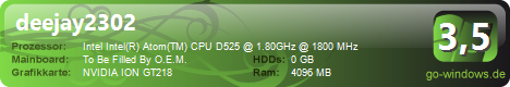 Mein Barebone Mini Server