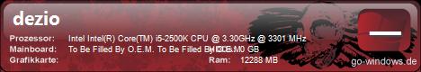 Neuer DeZio-PC