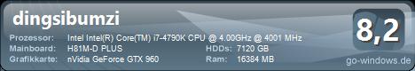 Neuer Arbeits-Computer