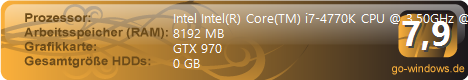 Intel I7 4770k & GTX970 Wasserkühlung Mora 3
