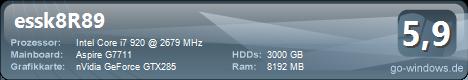 Acer G7711 Predator SharpShooter II