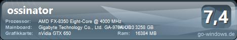 AMD FX Bollwerk