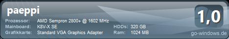 VERSCHROTTET: AMD Sempron 2800+