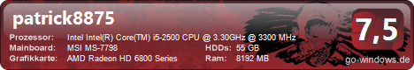 Mein Gamer PC