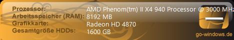 Mein Traum PC ;)