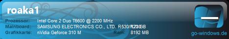 Notebook Samsung R730