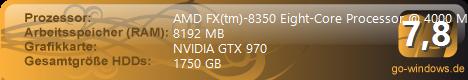 AMD FX vs. NVIDIA GTX