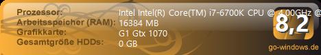 Intel i7 6700k Asus Rog Maximus VIII Hero
